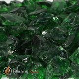 Ponderosa Green Recycled Fireglass