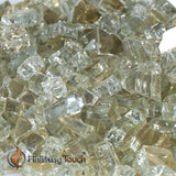 "1/4"" Titanium Metallic Fireglass Crystals"