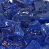 Deep Blue Sea Recycled Fireglass