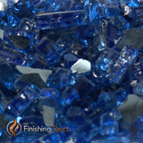 "1/4"" Royal Blue Metallic Fireglass Crystals"