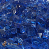 "1/4"" Royal Blue Fireglass Crystals"