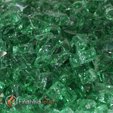 "1/4"" Rainforest Green Fireglass Crystals"