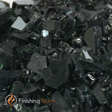 "1/4"" Onyx Black Metallic Fireglass Crystals"