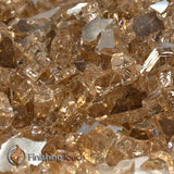 "1/4"" Copper Penny Metallic Fireglass Crystals"