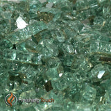 "1/2"" Emerald Green / Evergreen Metallic Fireglass Crystals"
