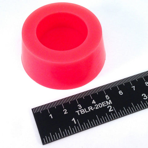 High Temp Masking Supply 2.125 x 2.500 Inch #12 Hollow Silicone Plugs