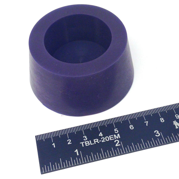 High Temp Masking Supply 2.437 x 2.953 Inch #13.5 Hollow Silicone Plugs