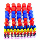"80 Pc 1/16"" to 3/4"" High Temp Silicone Rubber Tapered Plug Kit - Powder Coating"