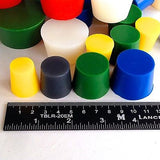 "XXLarge 3/4""-2"" High Temp Silicone Rubber Stopper Plugs Kit Powder Coating Paint"