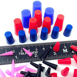 44pc High Temp Silicone Rubber Stopper Plug Kit Powder Coating Paint E-Coating