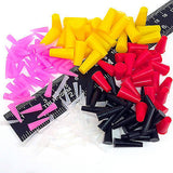 175pc High Temp Silicone Rubber Plug Stopper Kit Powder Coating Paint E-Coating