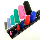 124 Piece High Temp Silicone Rubber Masking Kit Powder Coating Paint Caps Plugs Tape