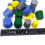 20pc XL High Temp Silicone Rubber Tapered Stopper Plug Kit Powder Coating Paint