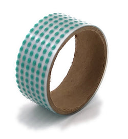 "1/8"" Round High Temp Polyester Masking Heat Tape Discs/Dots for Powder Coating Paint and Cerakote"