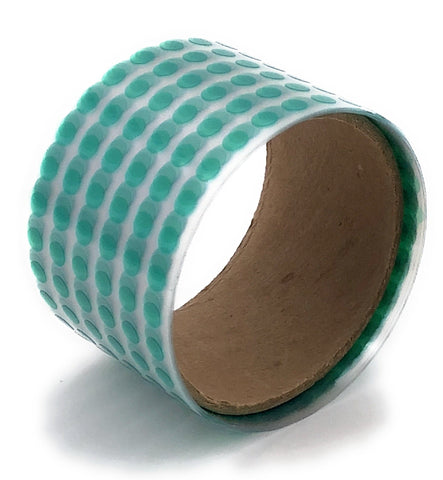 "1/4"" Round High Temp Polyester Masking Heat Tape Discs/Dots for Powder Coating Paint and Cerakote"