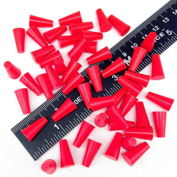 High Temp Masking Supply 3/16 x 11/32 Inch Silicone Powder Coating Plugs