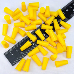 High Temp Masking Supply 1/4 x 3/8 Inch Silicone Powder Coating Plugs