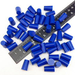 11/32 x 7/16 Inch High Temp Masking Supply Silicone Powder Coating Plugs