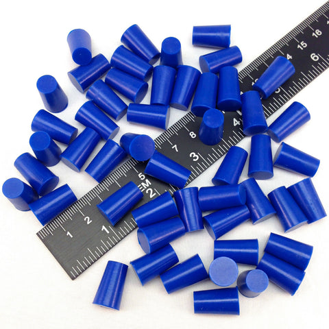 High Temp Masking Supply 11/32 x 7/16 Inch Silicone Powder Coating Plugs