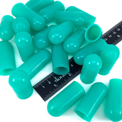 "3/4"" ID High Temp Silicone Rubber End Caps For Powder Coating, Paint, General Masking"