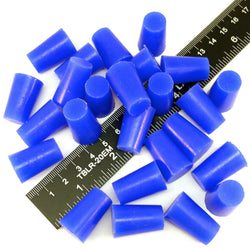 1/2 x 5/8 Inch High Temp Masking Supply Silicone Powder Coating Plugs