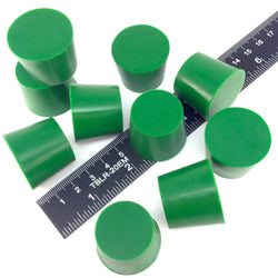 1.031 x 1.250 Inch High Temp Masking Supply Silicone Powder Coating Plugs