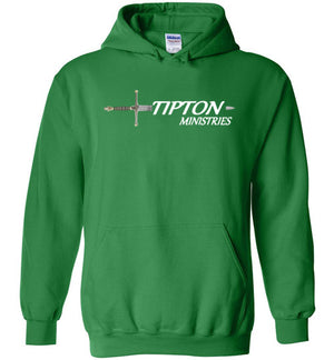 Tipton Ministry Logo, Sharing the Truth, Front/Back Print Hoodie, FITS TIGHT, 12 Colors