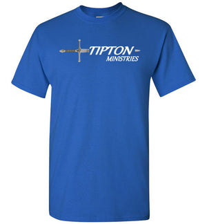 Tipton Ministry Logo, Sharing the Truth, Front/Back Print T-Shirt, 12 Colors