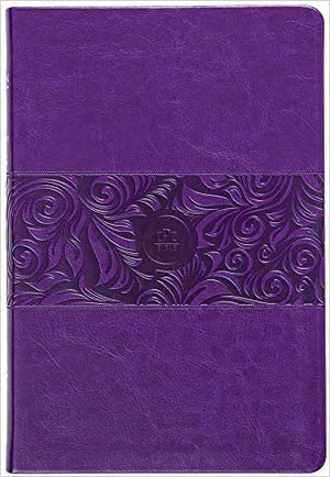 The Passion Translation New Testament (2020 Edition) Large 11-Point Print, Imitation Leather, Violet