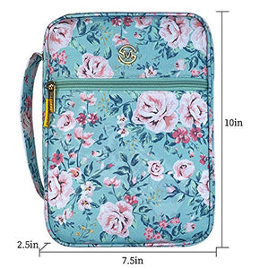 Bible / Book Cover, Floral Pattern with Handle, 12 Designs