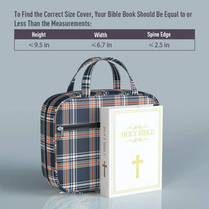 Bible Cover with Tabs, Pockets and Zipper, Leather, 3 Styles