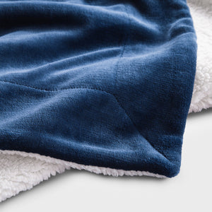 Sherpa Fleece Throw Blanket, Soft Microfiber, 19 Colors