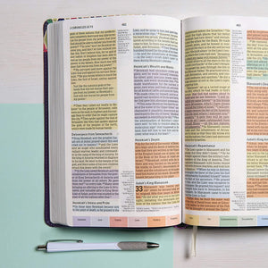 Rainbow Study Bible, LeatherTouch, 3 Colors, 10-Point Print, CSB Version