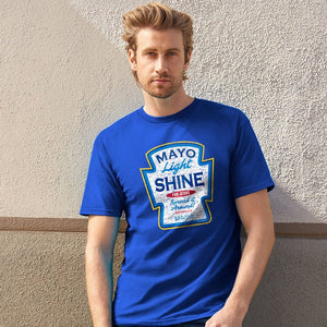 Mayo Light Shine, Adult T-Shirt