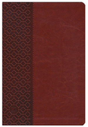 The Passion Translation New Testament (2020 Edition) Large 11-Point Print, Imitation Leather, Brown