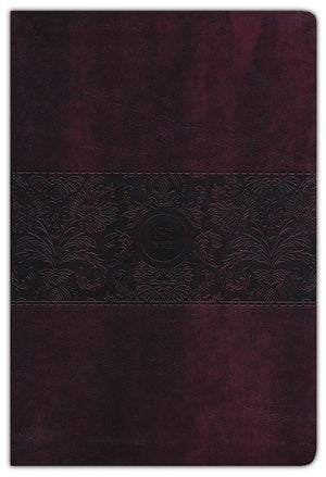 The Passion Translation New Testament (2020 Edition) Large 11-Point Print, Imitation Leather, Burgundy