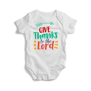 Give Thanks to the Lord, Baby Bodysuit