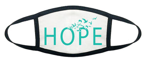 Hope, 100% Cotton Face Mask