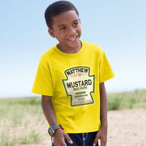 Mustard Seed Faith T-Shirt, Toddlers and Kids Sizes
