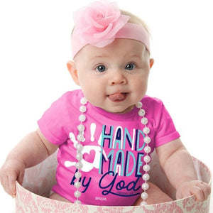 Handmade by God T-Shirt, Jeremiah 1:5, Babies