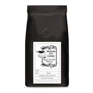 6 Bean Blend Coffee, Dark Roast, Caffeinated
