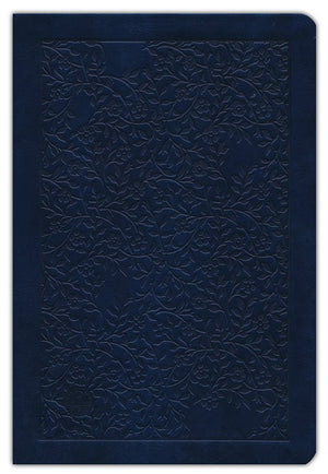 The Passion Translation New Testament (2020 Edition) Large 11-Point Print, Imitation Leather, Navy Blue