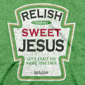 Relish Sweet Jesus, Adult T-Shirt
