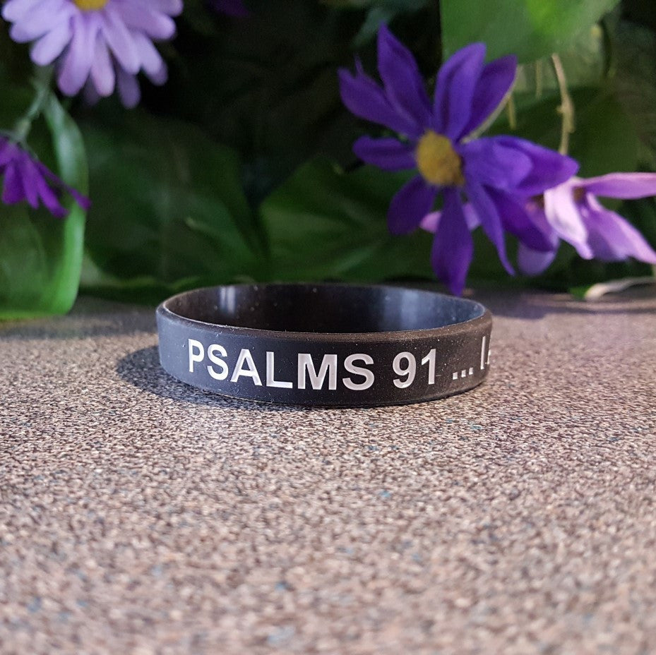 Faith Wristband - I Am Protected by God