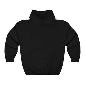 With God All Things Are Possible, Front Print Heavy Blend Hoodie - 12 Colors