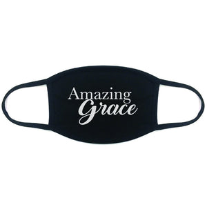 Amazing Grace, 100% Cotton Face Mask