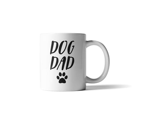 Dog Dad Mug,  2-Sided Print, 11oz