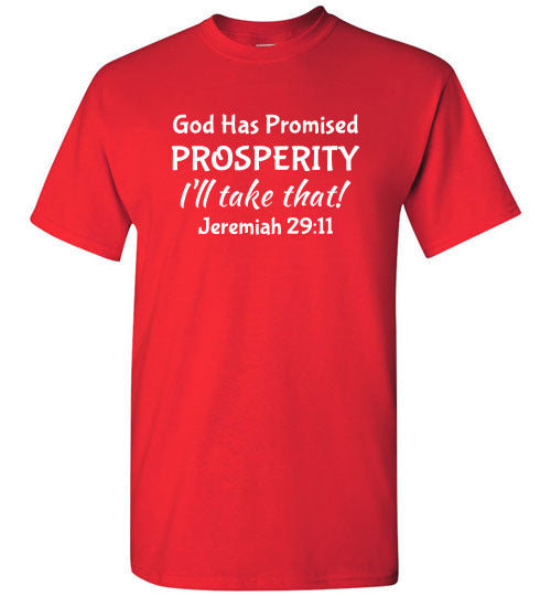 I'll Take That, Prosperity, Front Print T-Shirt - 12 Colors