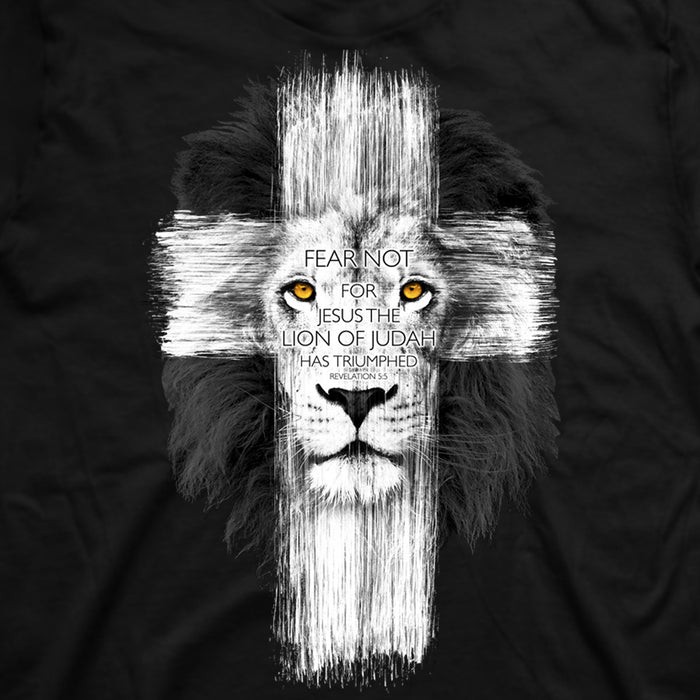 Lion Cross, Adult T-Shirt