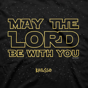 May The Lord Be With You, Front/Back Print, Adult T-Shirt